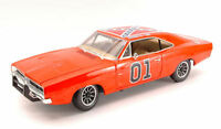 The Dukes Of Hazzard General Lee Dodge Charger 1969 1:18 Model AMM964 AUTO WORLD