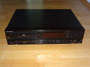 Sony CDP-228ESD High-End CD-Player, Schwarz, neuer Laser, 2 Jahre Garantie