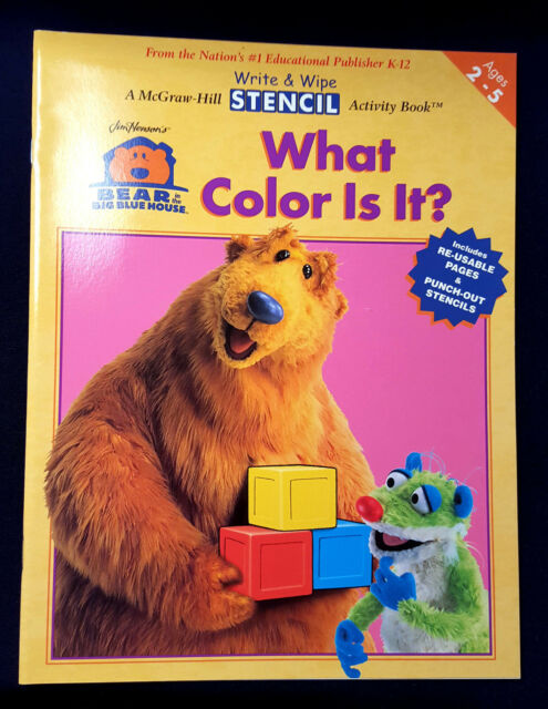 Bear in the Big Blue House: What Color Is It? (2003, Paperback ...