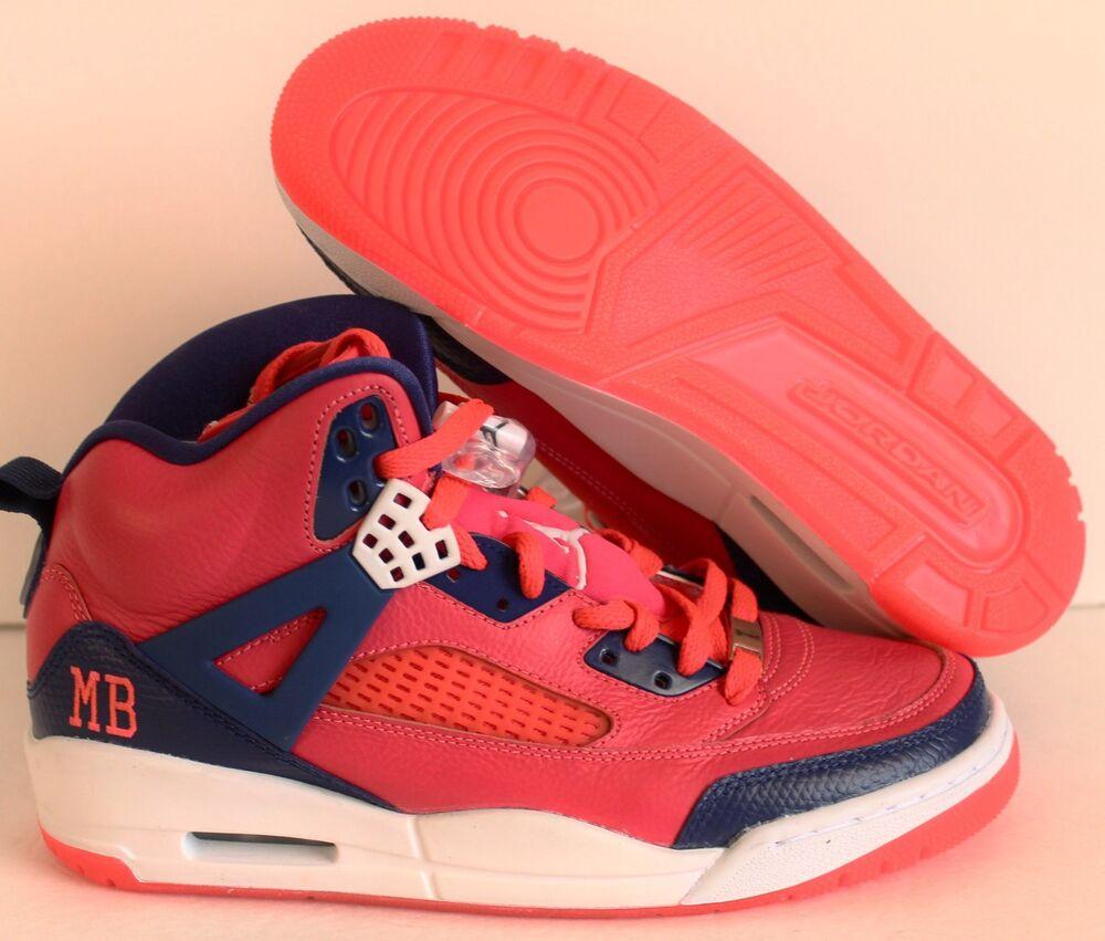 NIKE AIR JORDAN SPIZIKE iD rose-bleu-Blanc Homme  Chaussures de femmes sport pour hommes et femmes de a2fc71