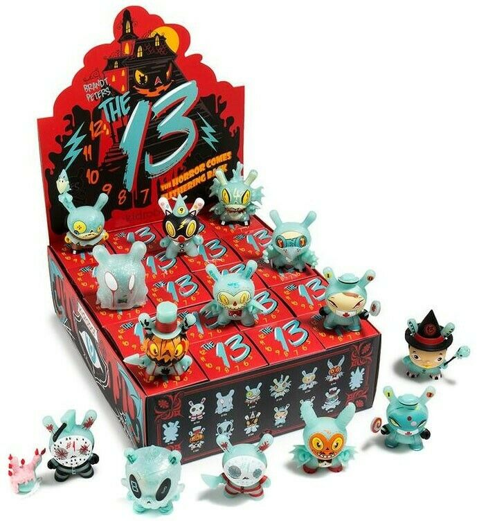 Dunny Dunny Dunny 13 Series  The Horror Comes Back Mystery Minis Blind Box [20 Packs] d09