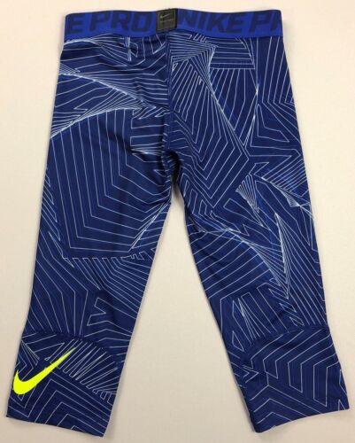 Boy/'s Youth Nike Pro Dri-Fit Three Quarter Length Spandex Leggings Pants