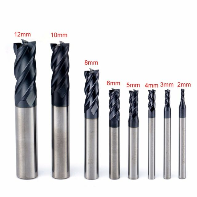 Premium Cobalt Steel 7//8 Mill Diameter 3//4 Shank Diameter 5 3//4 Overall Length 3 1//2 Flute Length F/&D Tool Company 19311 Multiple Flute Single End Straight Shank Roughing Endmill Non Center Cutting 5 Number of Flutes