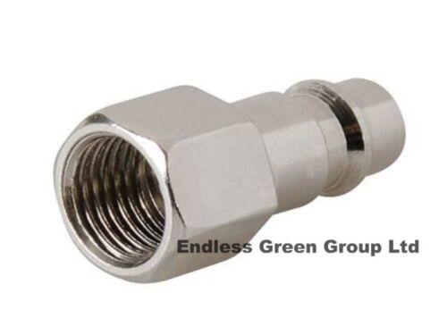 EURO FEMALE ADAPTOR 1/4 BSP - air line compressor tool / air hose fitting EU283