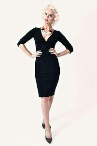 TARA-STARLET-Size-8-Brown-Check-Joan-Dress-BNWT