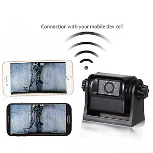 Details about WiFi Magnetic Powered Wirelss Back Up Camera for Android Smartphone RV Truck Van