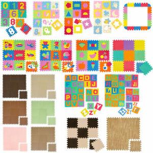 Matte-Spiel-Puzzlematte-Kinderteppich-Spielmatte-Spielteppich-Schaumstoffmatte