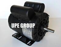 2 Hp 1ph Electric Motor 56 Frame 5/8 Shaft 3450 Rpm 110 / 208-230 Volt Odp