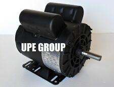 """2 hp 1ph  Electric Motor 56 frame 5/8"""" shaft 3450 RPM 110 / 208-230 VOLT  ODP"""
