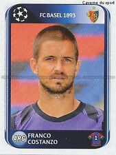 N°312 COSTANZO # ARGENTINA FC.BASEL UEFA CHAMPIONS LEAGUE 2011 STICKER PANINI