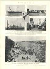 1905 Rail Disaster Ligny Sceaux Great Earthquake At Lahore Buildings Damaged