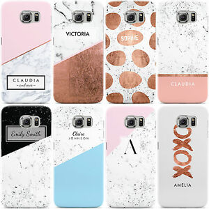 a4e15d2686 Image is loading PERSONALISED-MARBLE-NAME-INITIALS-LETTER-PHONE-CASE-COVER-