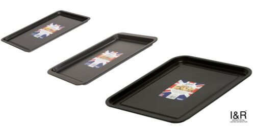 Non-Stick Baking Tray Oven Cookware Roasting Tins Pans Sheets Trays
