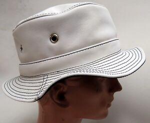 Hüte & Mützen Damen-accessoires Modestil Hut Hochwertig Leder Lederkappe Originell Lederhut Kappe Mit Breiter Krempe Neu# Produkte Werden Ohne EinschräNkungen Verkauft