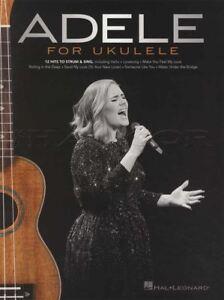 """100% De Qualité Adele Pour Ukulélé Strum & Sing Corde & Mélodie Répertoire Skyfall Hello Lovesong""""-afficher Le Titre D'origine Ni Trop Dur Ni Trop Mou"""