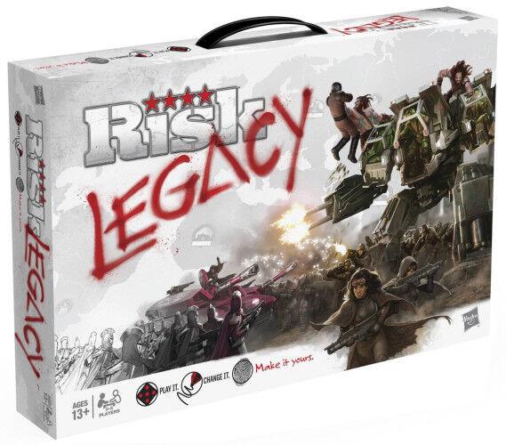 Risk Legacy Hasbro - Board Game - (New)