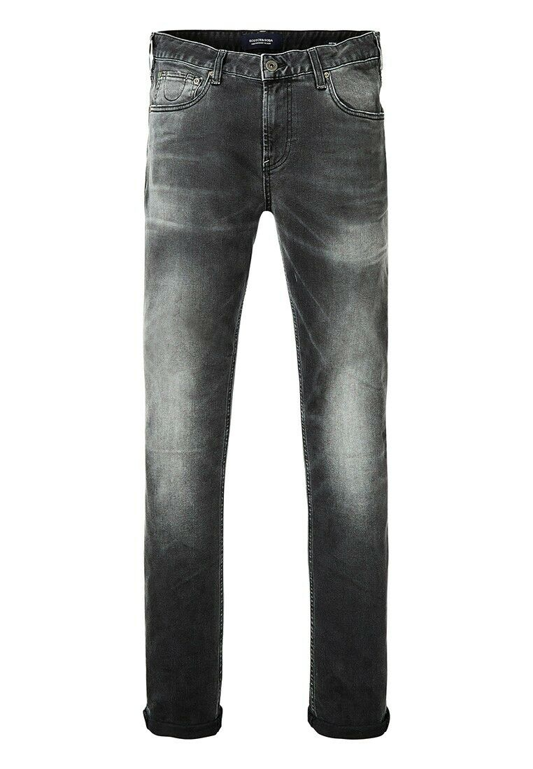 Scotch & Soda Jeans Men Skim 100170 Dark Grey 0A