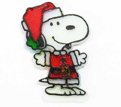 Vintage 1965 Snoopy Christmas Ornament Peanuts Santa ...