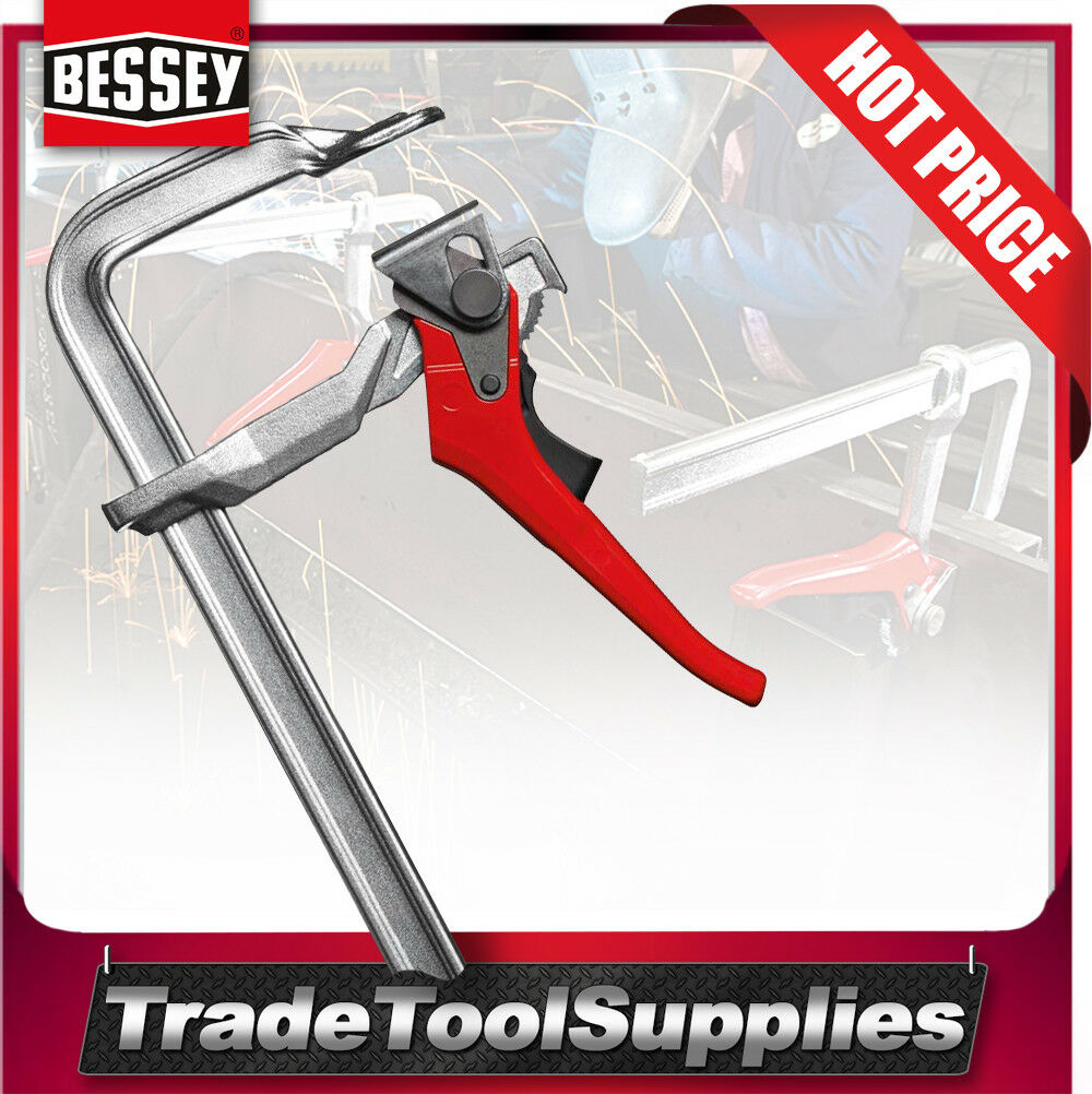 Bessey Lever Clamp 400mm Non-Slip Trigger Release GH40 400/120