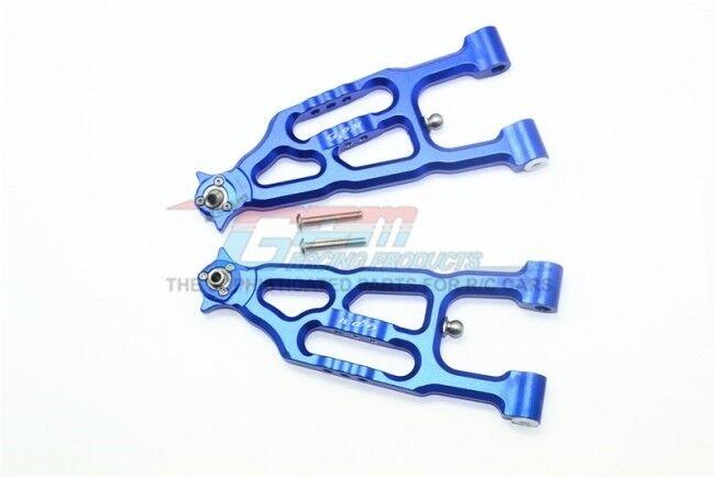 GPM SB055 ALU FRONT LOWER SUSPENSION ARM For TEAM LOSI 1 6 SUPER BAJA REY 4X4