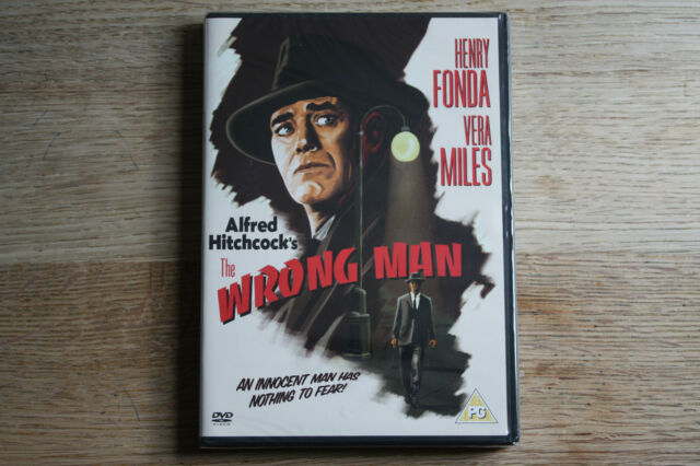 The Wrong Man (2004) New in Wrapper - Region 2 (UK) DVD - FREE UK 1ST CLASS P&P
