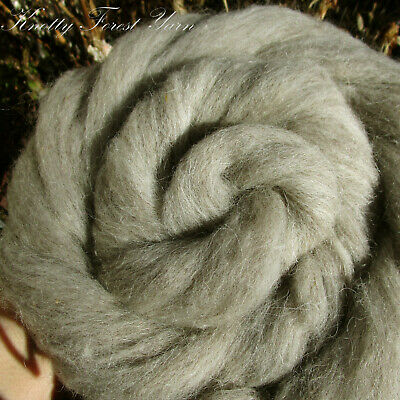 GRAY SAVE: 2 ounces Merino Wool Roving for Felting