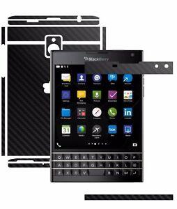Carbon Skin,Full Body Wrap,Case Vinyl Decal for Blackberry Passport
