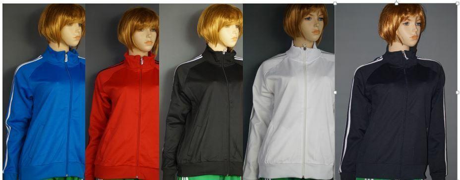 Slazenger Court Ladies Full Zip Track Top Womens Sports Jacket Tennis Sweater