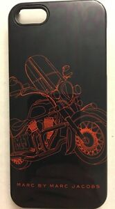 Marc-By-Marc-Jacobs-Black-Motorcycle-Case-For-iPhone-Brand-New-Fits-iPhone-5-5S
