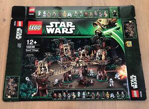 LEGO 10236 Star Wars Ewok Village Leerkarton/ Box/Ovp NEU
