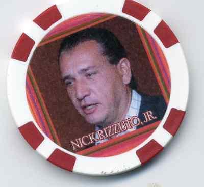 NICK SANTORA GANGSTER  COLLECTOR CHIP
