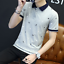 en-039-s-Slim-Fit-Short-Sleeve-Cotton-Shirt-T-shirt-Casual-Tops-Blous thumbnail 13