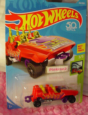Hot Wheels Red Loopster Hands Up Diecast 1:64 HW Fun Park 3//5 New 2017