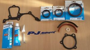 COSWORTH-YB-GASKET-SET-4X4-BOTTOM-END-WITH-VICTOR-REINZ-SEALS-amp-SUMP-SEALANT
