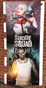 d42a6901cc9d0f Image is loading Cinema-Standee-SUICIDE-SQUAD-2016-Jared-Leto-Margot-