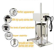 110v10l Electric Sausage Stuffer Meat Filler Maker Making Machine Commercial