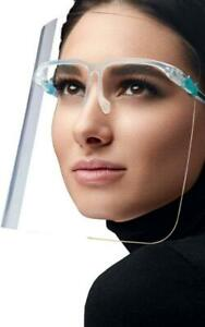 PROTECTIVE FACE SHIELD ON GLASSES - Free Shipping across Canada Canada Preview