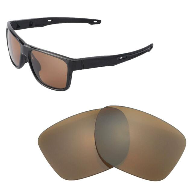 f7e37a80a8 Walleva Polarized Brown Replacement Lenses for Oakley Crossrange Sunglasses