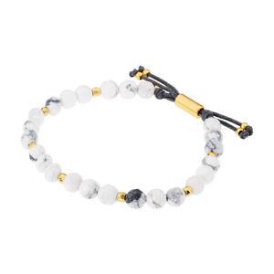 Gorjana Power Gemstone Howlite Beaded Bracelet For Calming 17120532GPKG