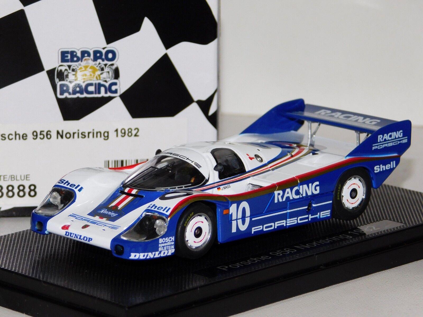 Porsche 956 Norisring 1982 Ebbro 43888 1 43