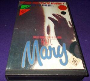 HAIL-MARY-VHS-PAL-JEAN-LUC-GODARD-THE-VIRGIN-MARY-AUSTRALIAN-RELEASE