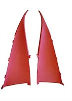 1970 - 1974 TRANS AM CAMARO SAIL PANEL SET / UPPER REAR WINDOW SIDE TRIM - RED