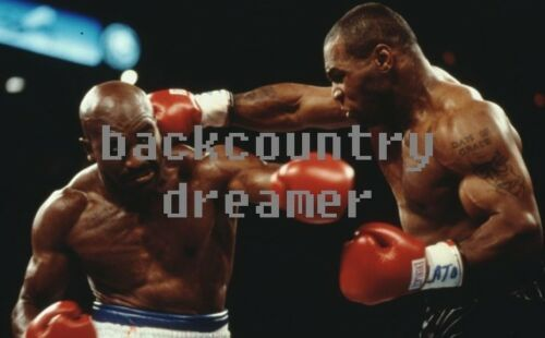 D 36 x 24 MIKE TYSON EVANDER HOLYFIELD Poster Boxing Heavyweight Boxing Poster