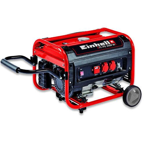 Einhell Stromerzeuger TC-PG 3500W 4152550 Benzin Notstromaggregat Stromgenerator