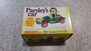 Dinky-Toys-Parsley-039-s-Car-Morris-Oxford-Bull-Nosed-The-Adventures-of-Parsleys