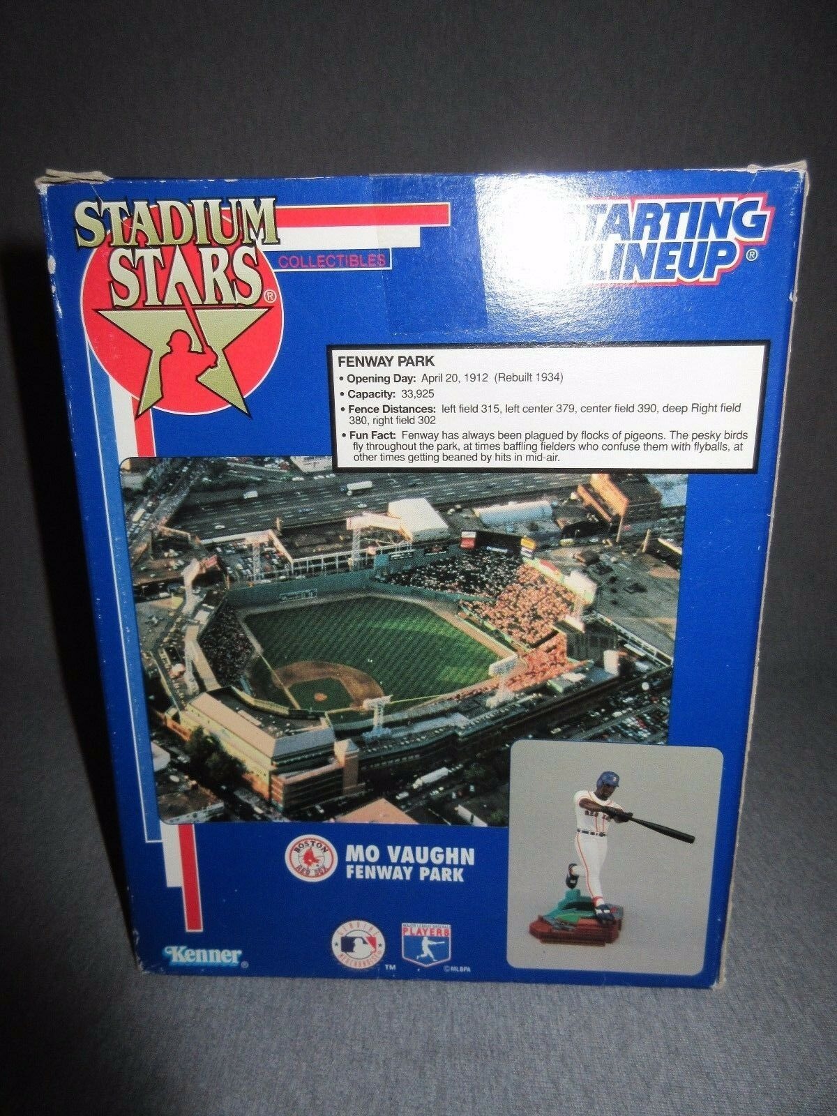 Mib stadion sterne start bis ausgabe 1995 park mo vaughn fennway park 1995  56daa1