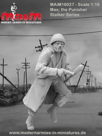MAiM 1 16 Stalker- Max The Punischer (1 figure,3D printed soft resin)