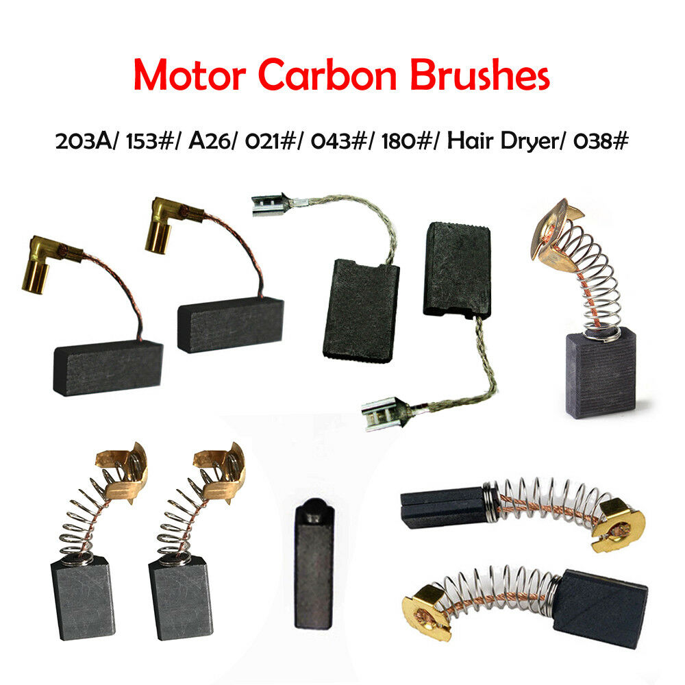 Carbon Brushes For AEG 19-024 279375 WS601 WS602 WS632 KS2.5