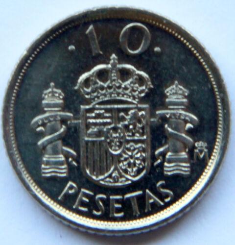 SPAIN JUAN CARLOS I 10 PESETAS 1998 KM-1012 MINT ROLL