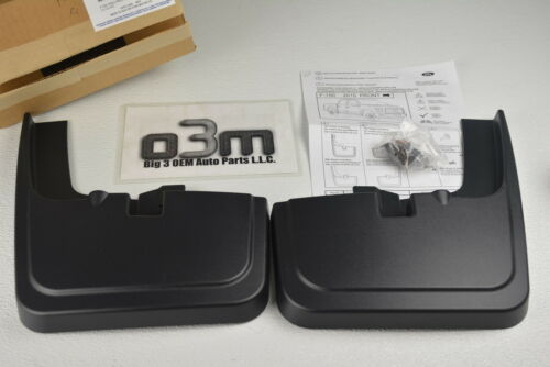 2015-2016 Ford F-150 Front Molded Splash Guard Mud Flaps with Fender Flares OEM